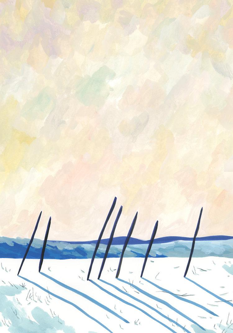 Ping Zhu BURGO Calendar 1