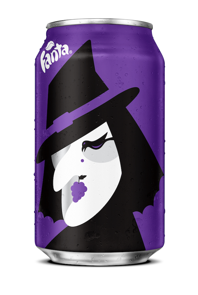 Noma Bar Fanta Halloween 2016 Grape Witch