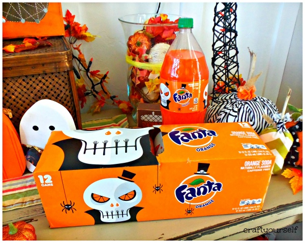 Fanta Halloween Packaging by Noma Bar