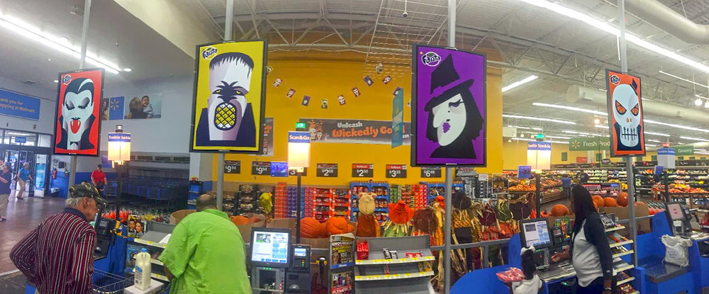 Walmart Saint Louis - Fanta Halloween by Noma Bar
