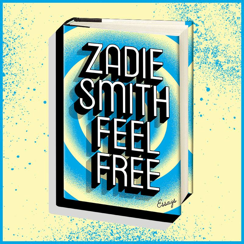 Dutch uncle gray318 book cover design zadie smith feel free news