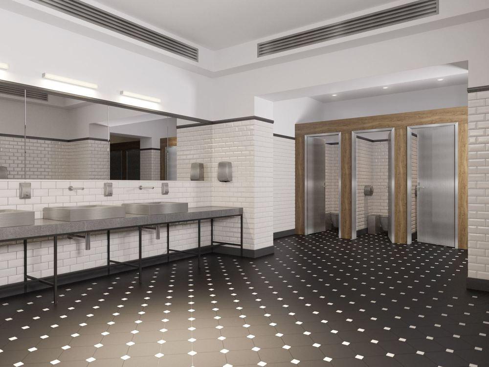 ЦПКиО / Интерьер туалета
