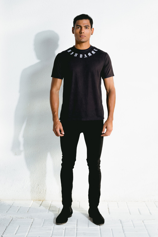 azilal pattern t-shirt