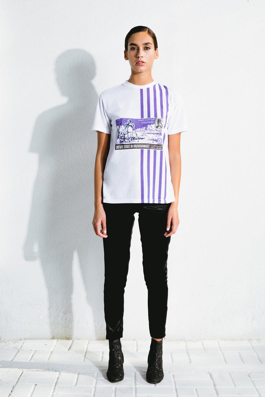 astro khaleeji stamp t-shirt