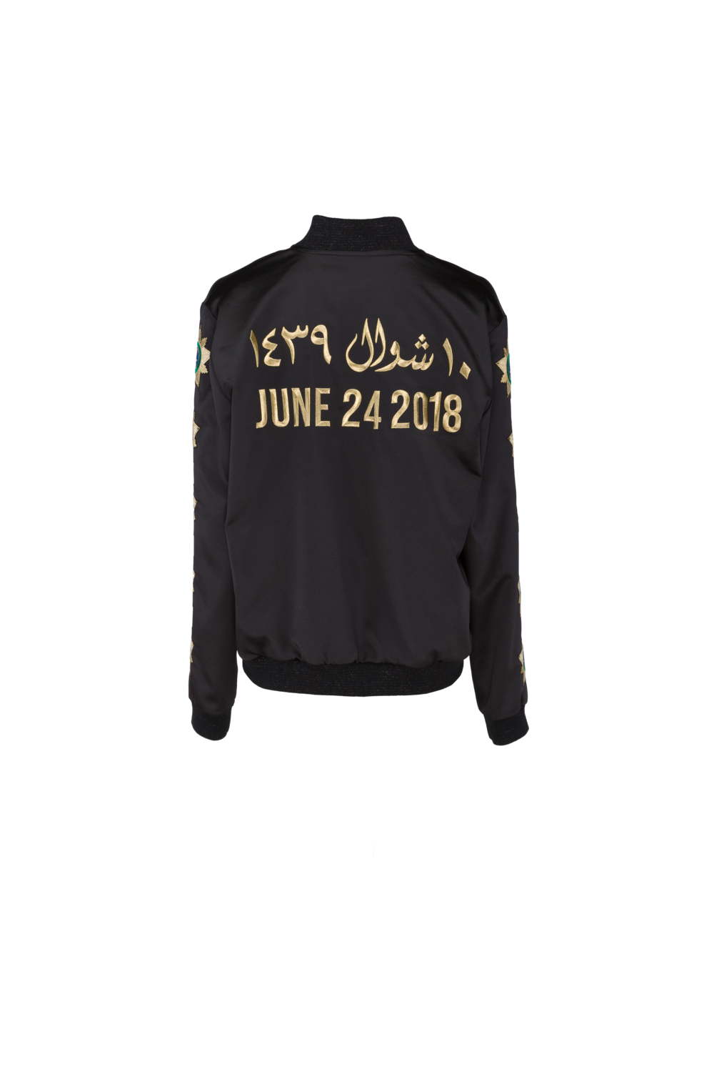 JUNE 24 DRIVING JACKET BLACK/GOLD