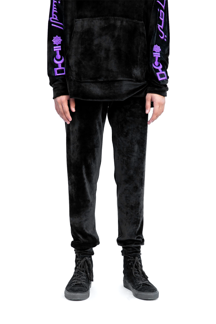 Black Velvet Track Pants1.png