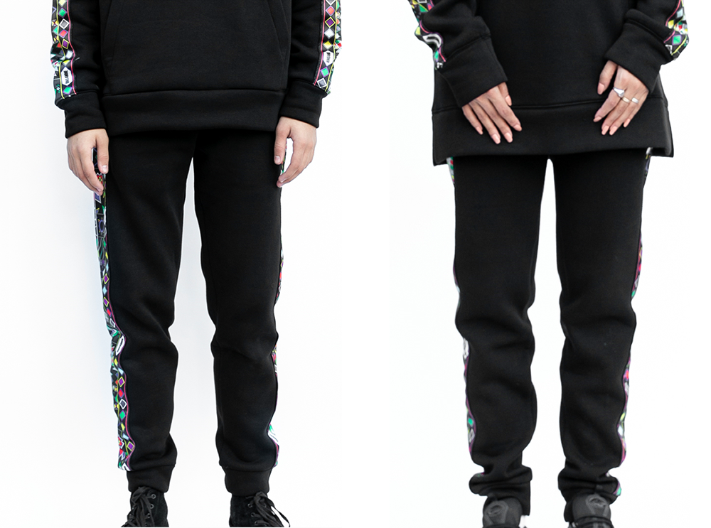 Multi Color Al Qatt Cotton Track Pants (UNISEX)
