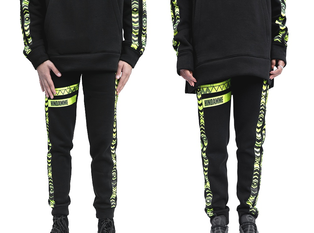 Neon Al Qatt Cotton Track Pants (UNISEX)