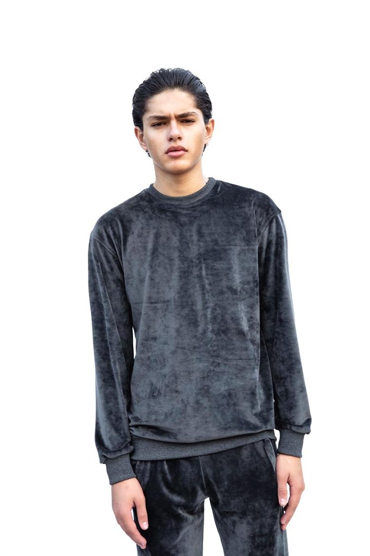 Dark Grey Velvet Sweatshirt1.png