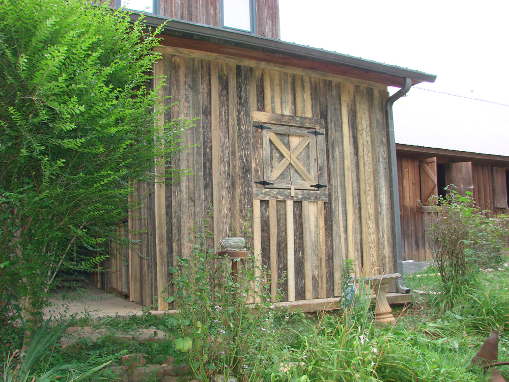 Board and Batten Tack Room