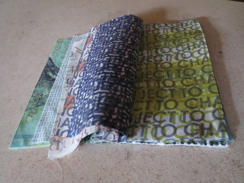 A sample book to record and catalog my printed fabrics.