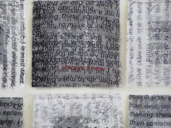 Screen printed dye on cotton