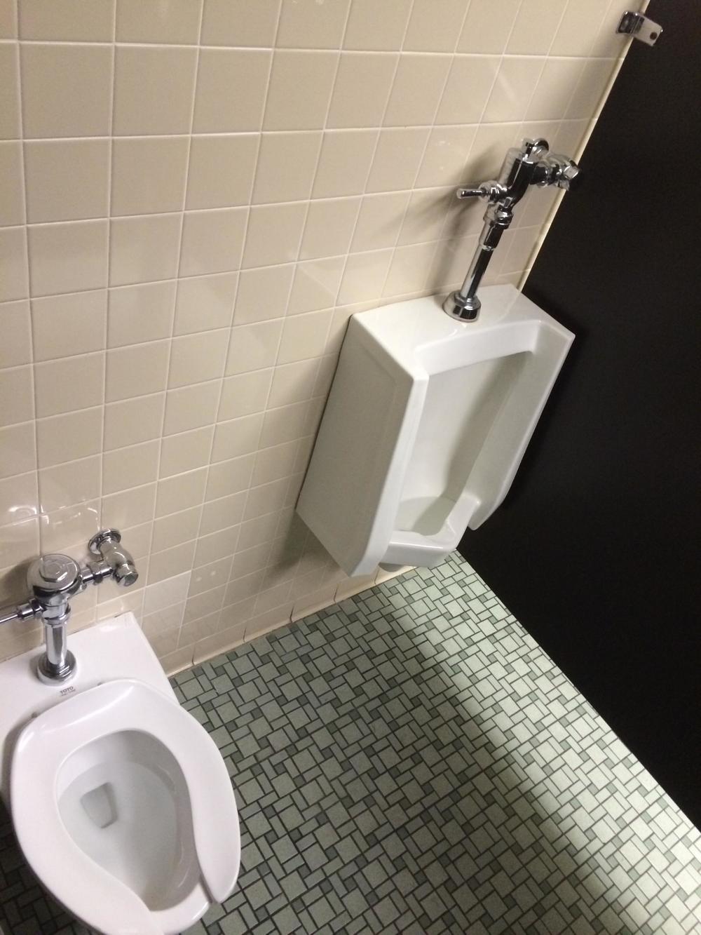 The bathroom stalllin question.