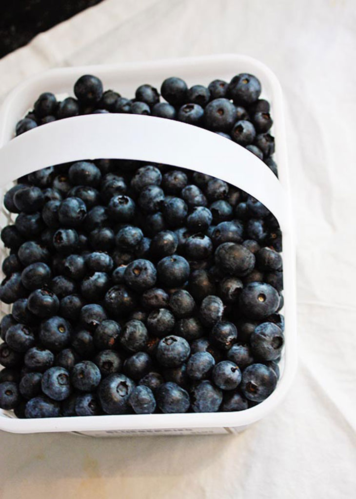 Fresh, Local Blueberries!