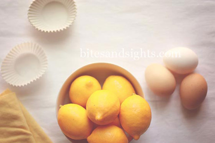 bowl of meyer lemons with eggs
