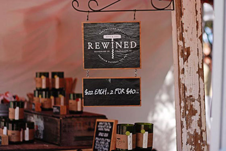 Charleston Farmer's Market on Marion Square - Rewined Candles