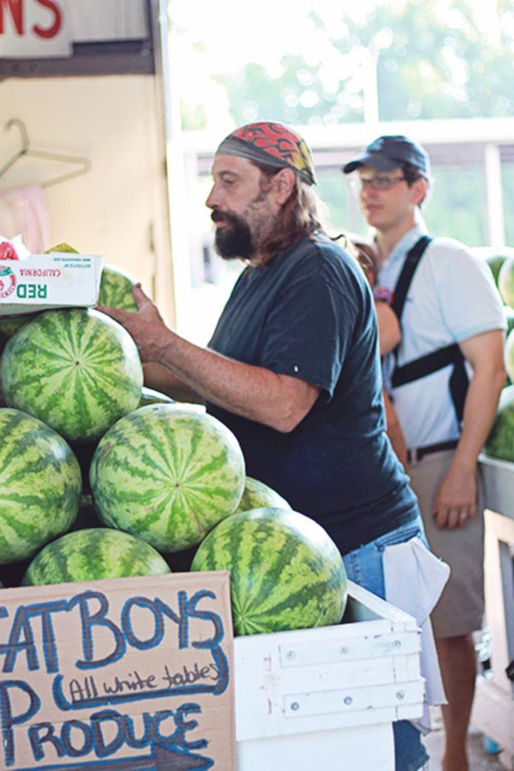the watermelon whisperer at fat boys