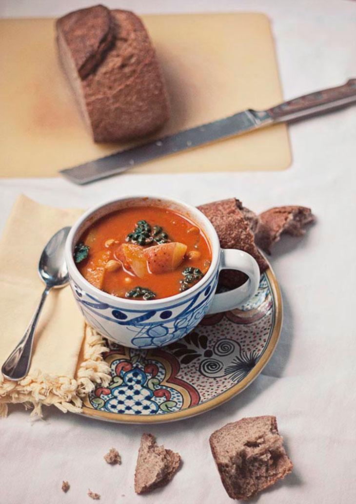 vegan curried coconut vegetable stew