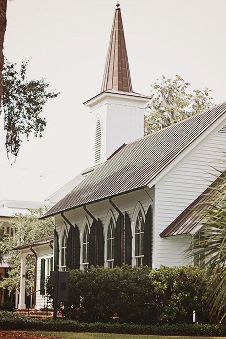 wedding chapel at palmetto bluff