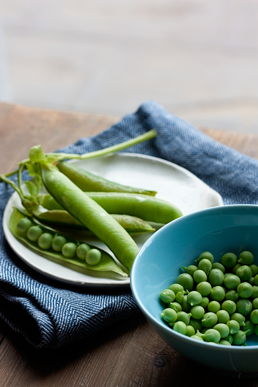 Kristen LeQuire Photography food photography peas.jpg