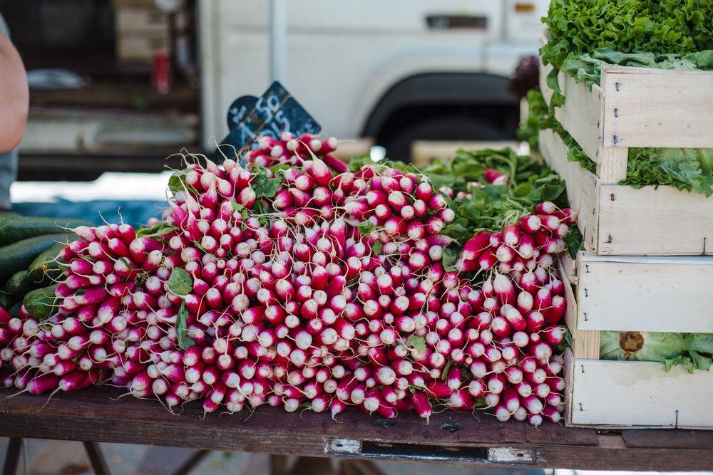 radishes!