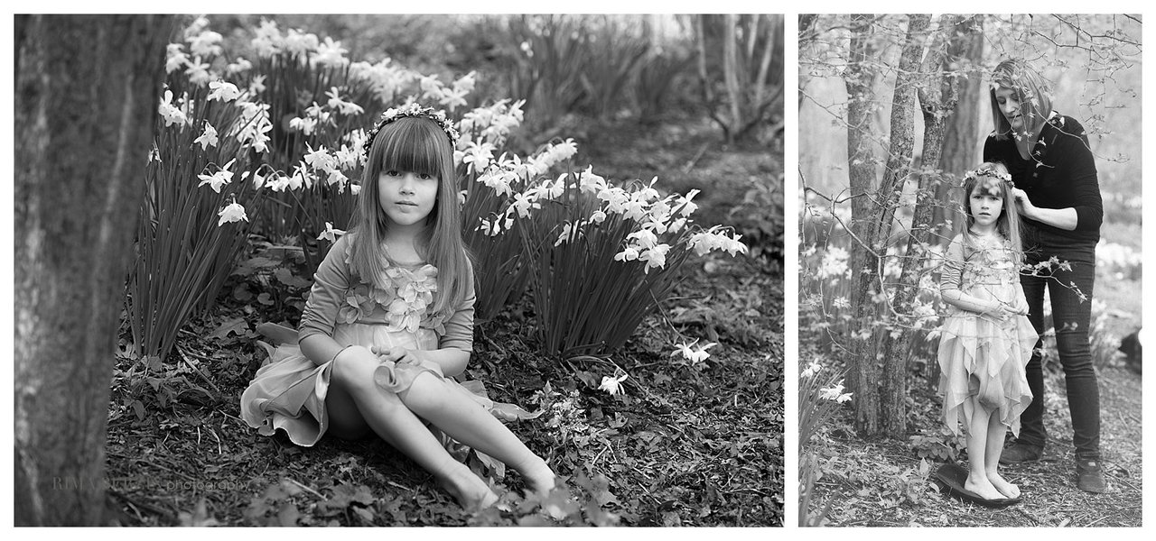 "…  a little girl's portrait session amid the leafy trees and new budding flowers.  A fairy tale in Central Park. ""J"" you were an amazingly patient little girl and so in the joyous spirit of the day.I am so fortunate to have shared this mother and daughter time with you.. Here is a look at behind the scenes, getting hair fixed by mom, and a sweet angel among the flowers. Join me on Facebook ©Rima Berzin all rights reserved please respect copyright. Thanks"