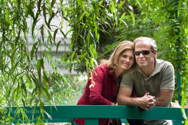 Love in Monet's Garden … but in NYC and not Giverny.