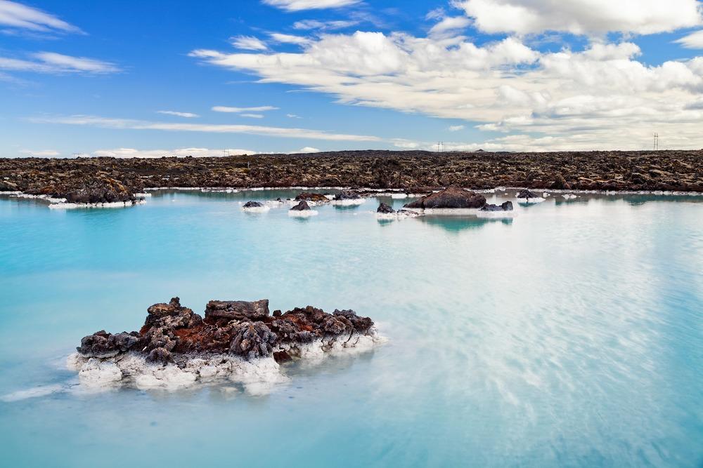 Gewässer an der Blauen Lagune