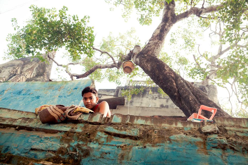 Ein verhaltener Blick auf die Straßen Indiens