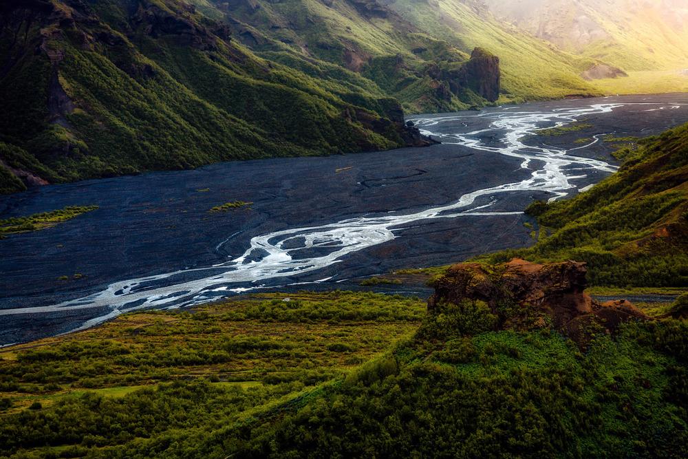Bezaubernder Blick über Islands Hochland - Thorsmörk
