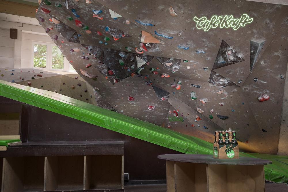 Boulderhalle der Gemütlichkeit - Café Kraft