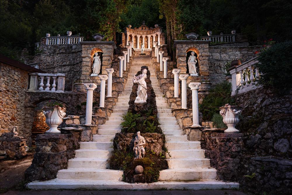 Italienische Romantik im Barockgarten Egloffstein