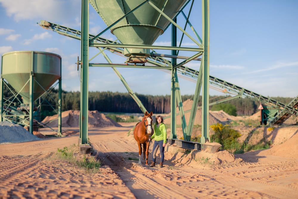Pferde Shooting im Freien