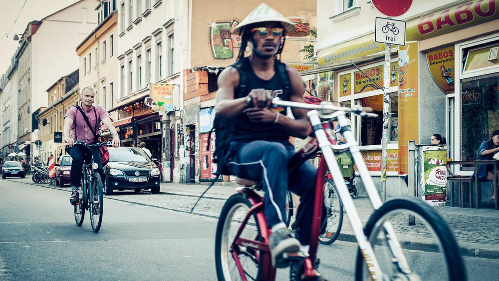 Dresdens Straßenszene