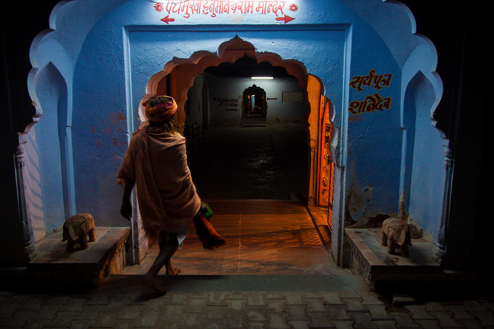 Seltsam mystische Atmosphäre in Pushkar