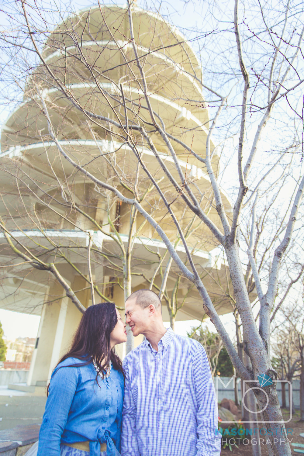 japantown engagement photography san francisco