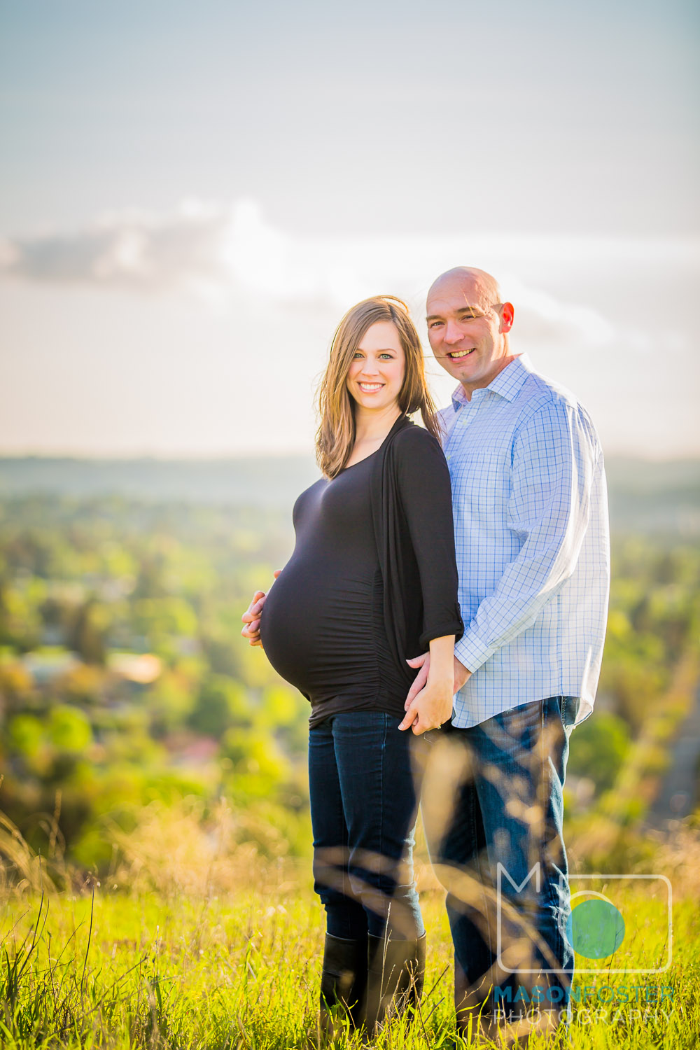 walnut creek maternity photography at lime ridge