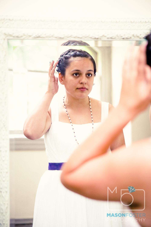 bride getting ready| san francisco wedding photography