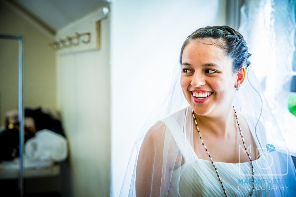 bride ready to go | san francisco wedding photography