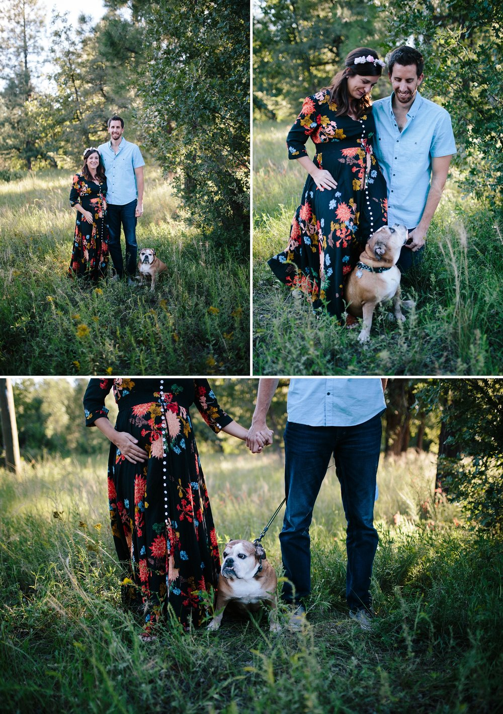 Payson AZ Maternity Session | Maternity Session with Dog