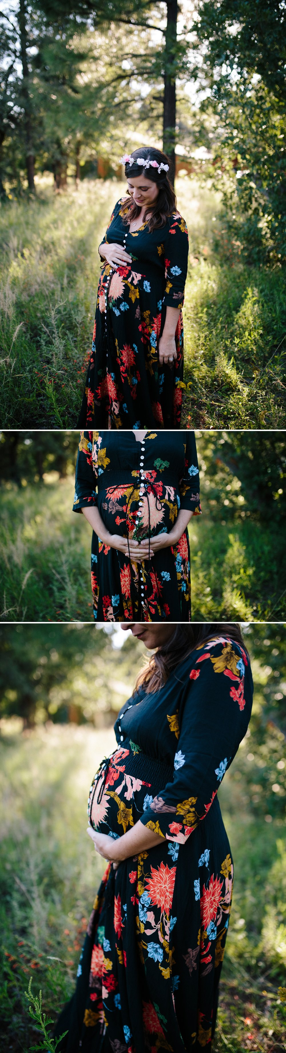 Payson Arizona maternity session