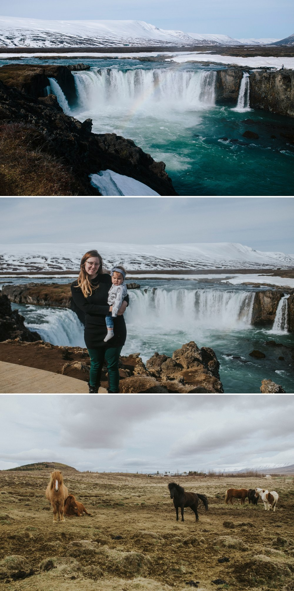 Godafoss Iceland Elopement Photographer