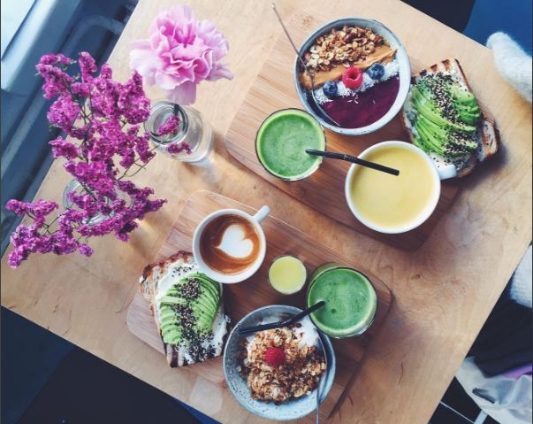 Healthy breakfast inspo via @annamariaruotsala