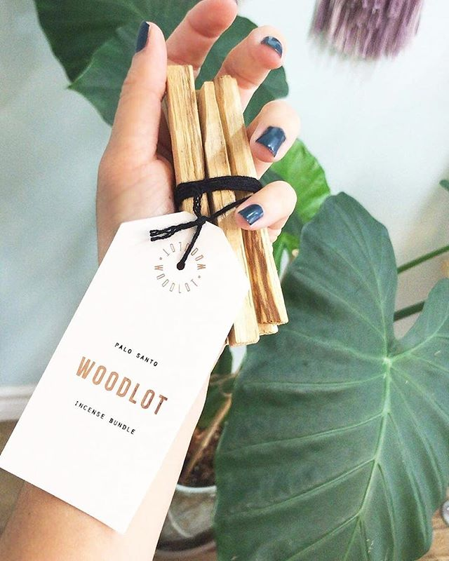 "Who loves the smell of Palo Santo? 🌿 This natural ""Holy Wood"" is known for its purifying, cleansing and healing properties. @woodlot #TheTruthBeautyCompany"