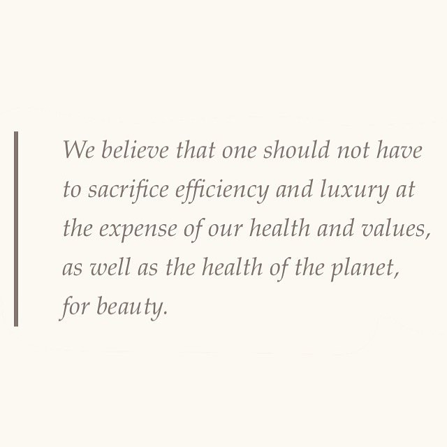 Luxury can be sustainable 🌿 #TheTruthBeautyCompany