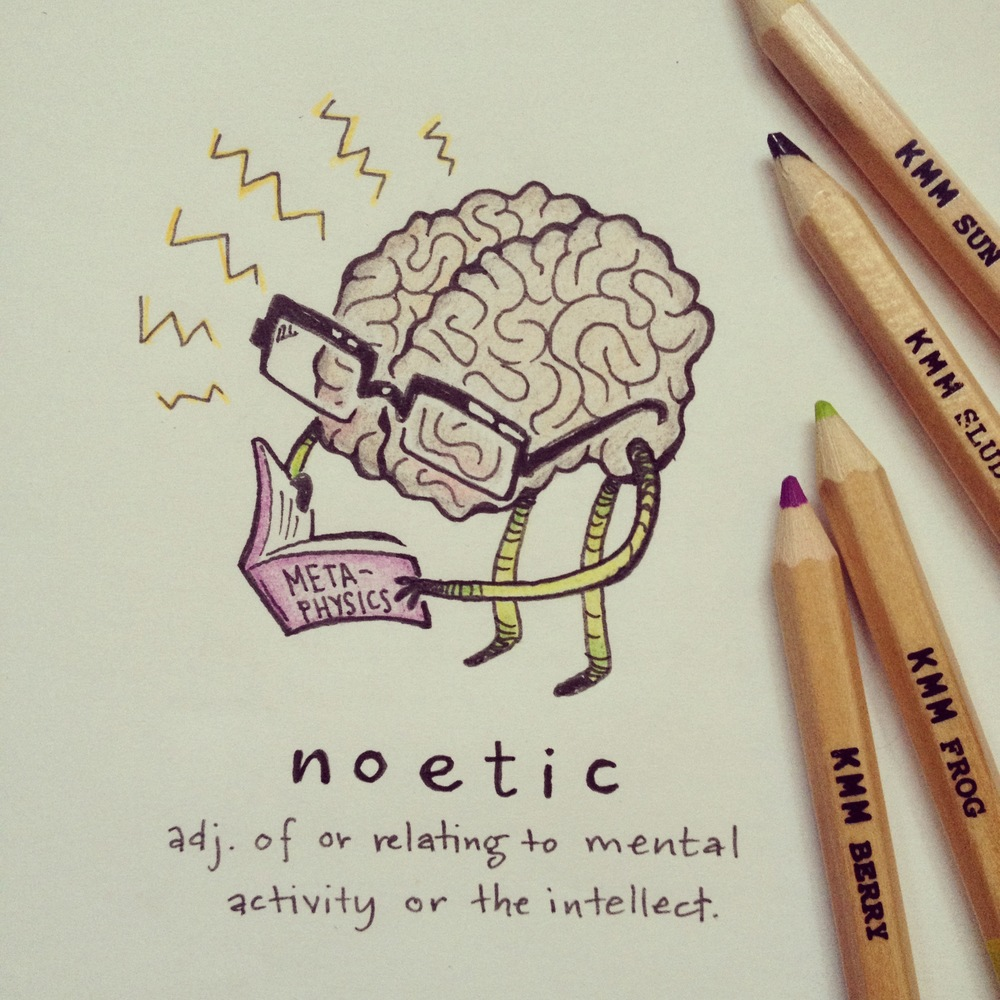 "Some say the Illustrated Word of the Day is too noetic. To that I say, ""Whatevs, fool"". 3.21.14"