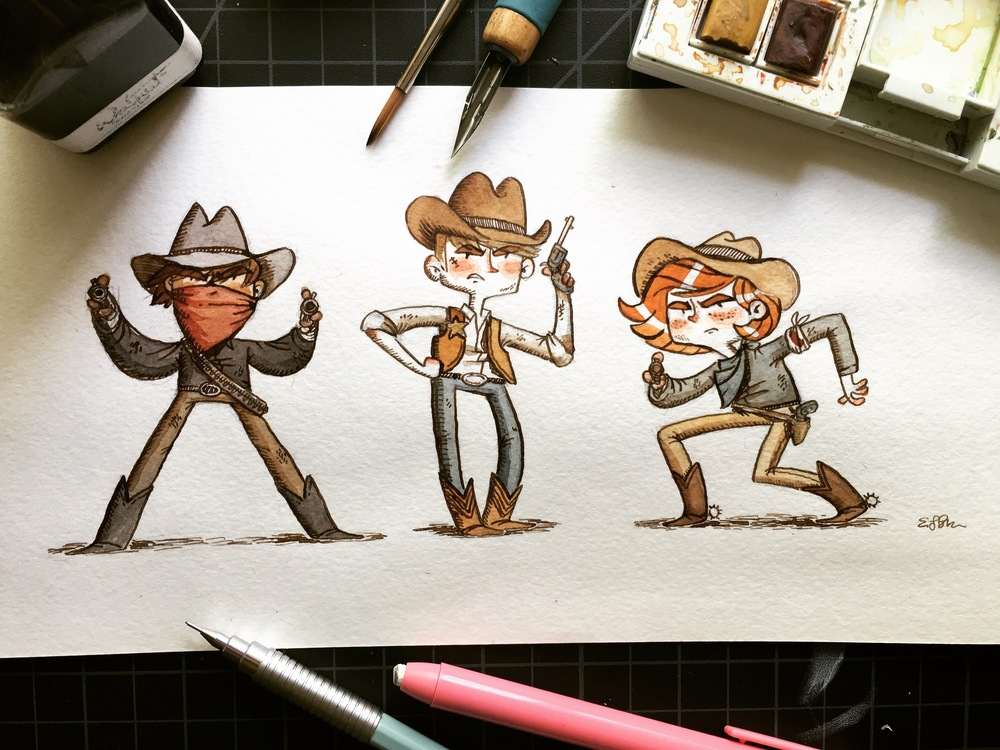 Sheriffs and Outlaws.
