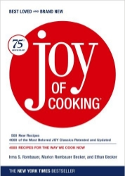 The Joy of Cooking , by Irma Rombauer