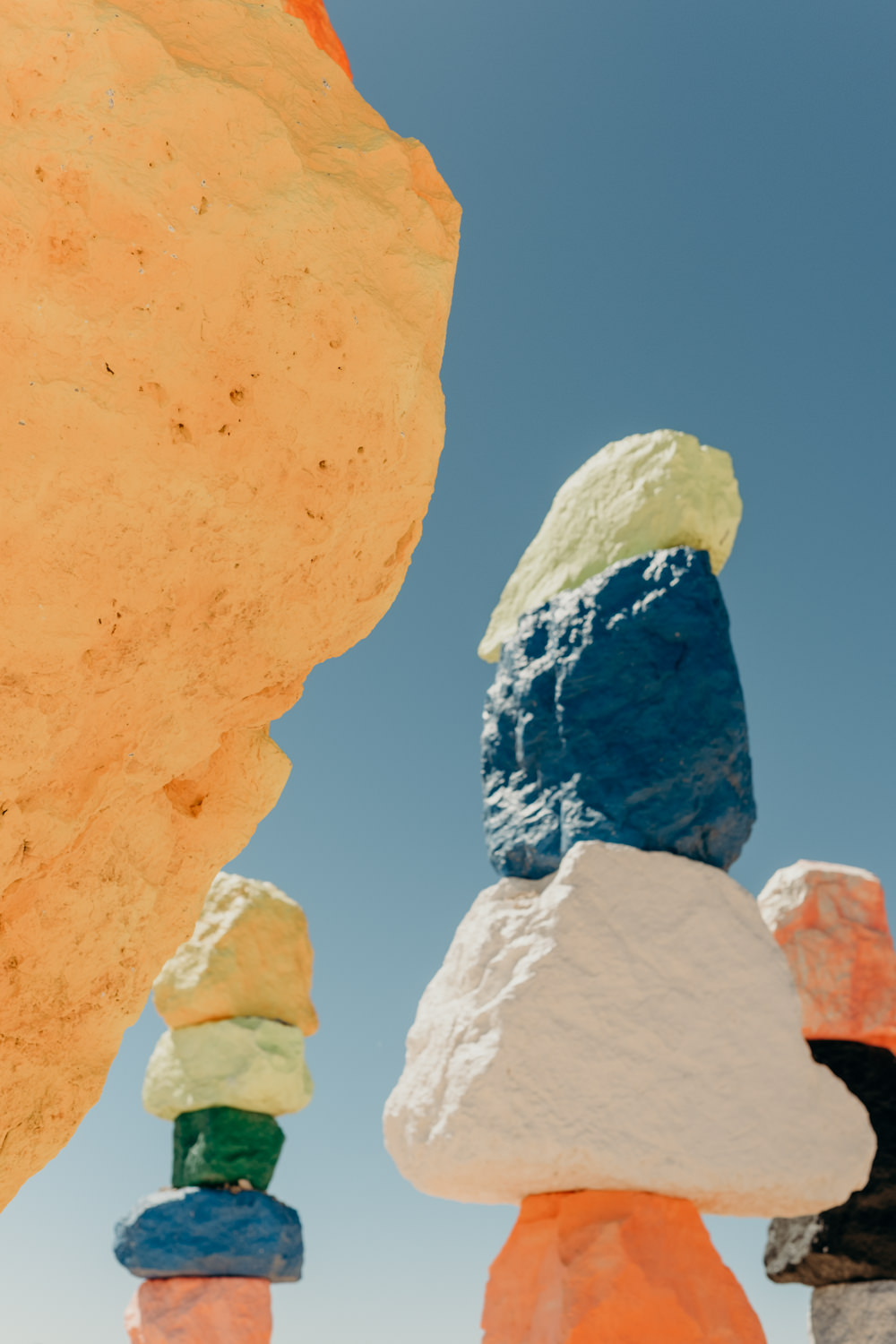 Las Vegas off the Strip - Seven Magic Mountains - Ali Happer Photo.jpg