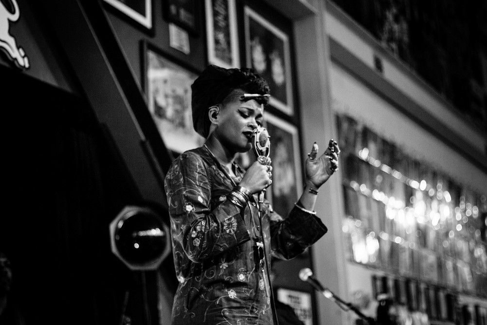ANDRA DAY for 30 DAYS IN LA at AMOEBA RECORDS HOLLYWOOD